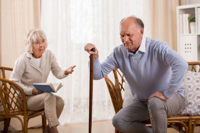 Хвороба суглоби в похилому віці