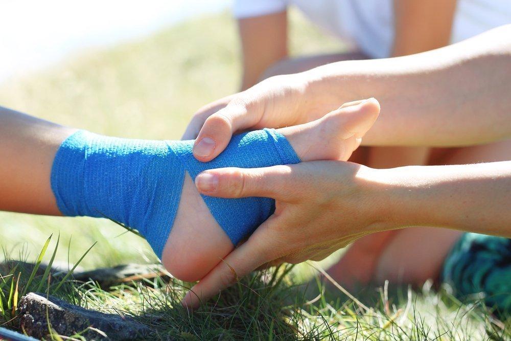 Лечение травм стопы